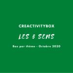Box par thème Octobre 2020 les 5 sens photo boutique