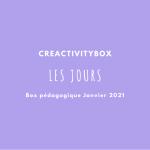 3- Box pédagogique Janvier 2021 Les mois photo boutique