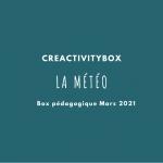 3- Box pédagogique Mars 2021 – la météo photo boutique