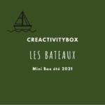 3- Mini Box été 2021 les bateaux Photo boutique site